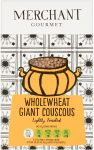 A packet of wholewheat giant couscous