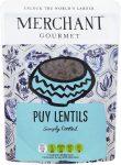 A packet of merchant gourmet puy lentils
