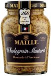 A jar of Maille Wholegrain Mustard